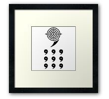 NARUTO: Uchiha Obito of Six Paths Framed Print