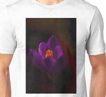 Purple Crocus Unisex T-Shirt