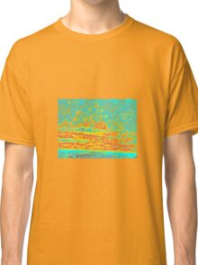 THE ORANGE & BLUE SCENE Classic T-Shirt