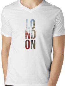 London Town Mens V-Neck T-Shirt