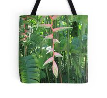 Beautiful Tropical Greenery Tote Bag