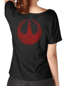 rebel alliance rogue one starbird Women's Relaxed Fit T-Shirt