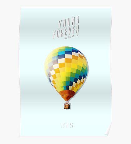 BTS/Bangtan Sonyeondan - Young Forever Balloon (Blue) Poster