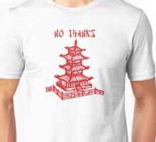 NO THANKS Unisex T-Shirt
