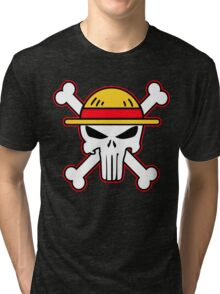 StrawHat punisher new Tri-blend T-Shirt