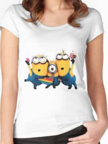 Minion by remi42 Women's Fitted Scoop T-Shirt