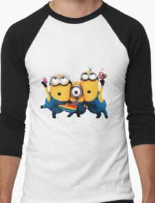 Minion by remi42 Men's Baseball ¾ T-Shirt