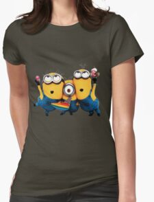 Minion by remi42 Womens Fitted T-Shirt