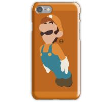 Luigi (Orange) - Super Smash Bros. iPhone Case/Skin