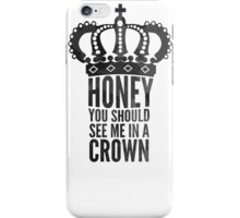 king  honey iPhone Case/Skin