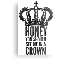 king  honey Canvas Print