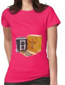 Kodak Brownie Reflex Womens Fitted T-Shirt