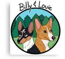 Billy and Louie - Custom Canvas Print