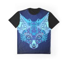 - Magic blue fox -  Graphic T-Shirt