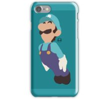 Luigi (Blue) - Super Smash Bros. iPhone Case/Skin