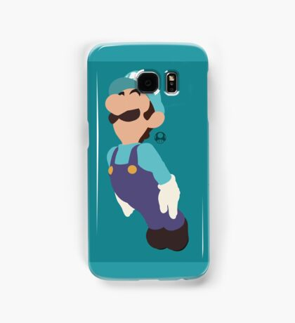 Luigi (Blue) - Super Smash Bros. Samsung Galaxy Case/Skin