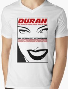 Duran Duran Greatest Mens V-Neck T-Shirt