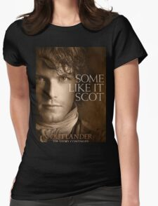 Jamie Fraser Outlander Womens Fitted T-Shirt