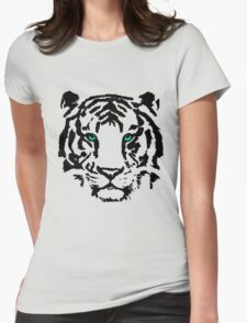 The Tiger Womens Fitted T-Shirt