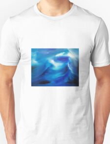 The wake - an original oil painting Unisex T-Shirt