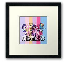 ~Friendship~ Framed Print