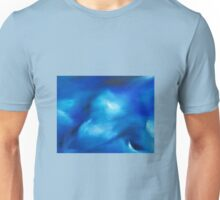 The moving sea - an original oil painting Unisex T-Shirt