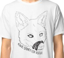 Save Sydney Fox Rescue Design  Classic T-Shirt