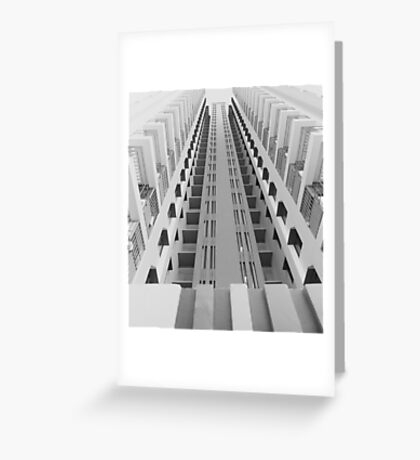 Singapore Skyscraper Greeting Card