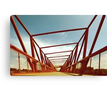 Bridge Perspective Canvas Print