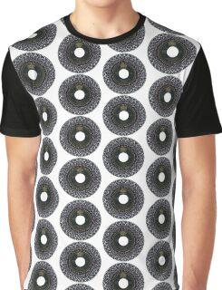Vinyl Mandala Graphic T-Shirt