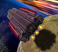 Gun Ship by GolemAura