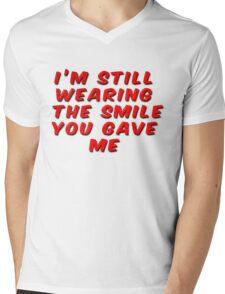 I'm Still Wearing The Smile You Gave Me Mens V-Neck T-Shirt