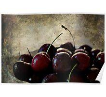 Dark Cherries Poster