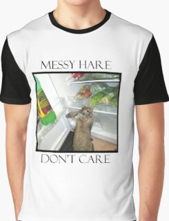 messy hare Graphic T-Shirt