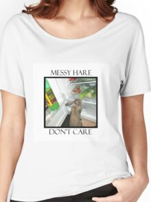 messy hare Women's Relaxed Fit T-Shirt