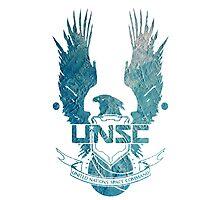 UNSC Logo Blue Photographic Print