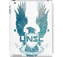 UNSC Logo Blue iPad Case/Skin