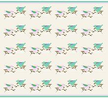 Two little birds by goanna