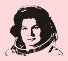 First Woman in Space - Valentina Tereshkove One Piece - Long Sleeve