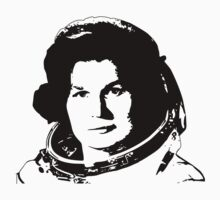 First Woman in Space - Valentina Tereshkove Baby Tee