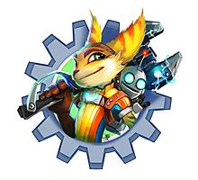 Ratchet and Clank Photographic Print