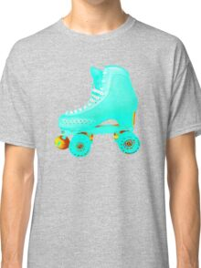 Blue Roller Skate Classic T-Shirt