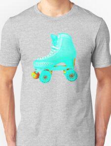 Blue Roller Skate Unisex T-Shirt