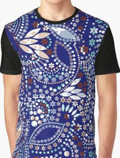 Seamless pattern modern texture abstract background with beads textile Graphic T-Shirt