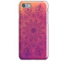 Happy mandala iPhone Case/Skin