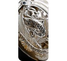 Live to Ride iPhone Case/Skin