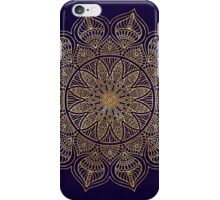 Gold mandala iPhone Case/Skin
