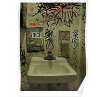 graff  toilet Poster