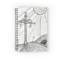 INRI - Inspired by Easter Spiral Notebook