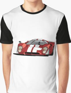 Lola T70 MKIII - Red Graphic T-Shirt